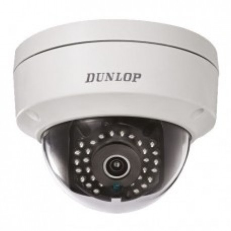 Dunlop 1.3 Mp IP Dome Kamera  DP-12CD1110F-IS